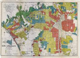 los angeles redlining