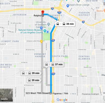 Mi ruta para llegar a Ralph