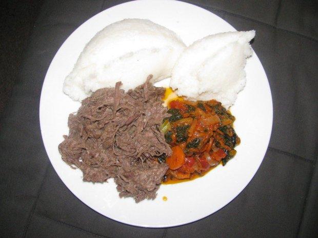 La comida en Botsuana